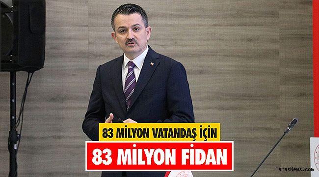 83 Milyon Vatandaş İçin 83 Milyon Fidan
