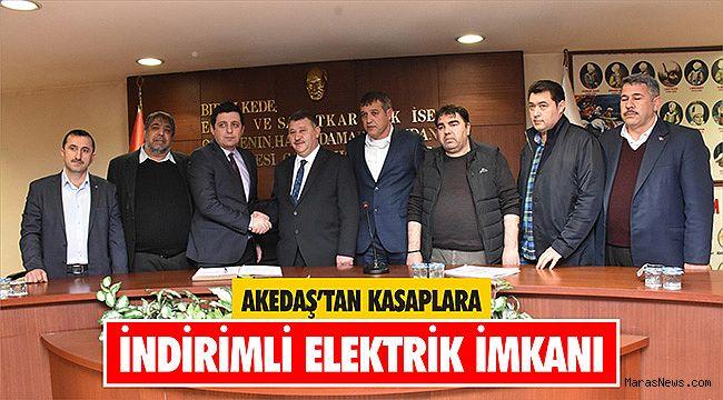 AKEDAŞ'tan Kasaplara indirimli elektrik imkanı