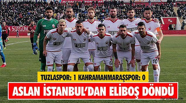 Aslan İstanbul'dan eliboş döndü
