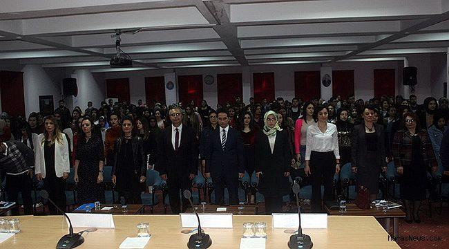Göksun Uygulamalı Bilimler Yüksekokulunda İş Hayatında Kadın konulu panel gerçekleştirildi
