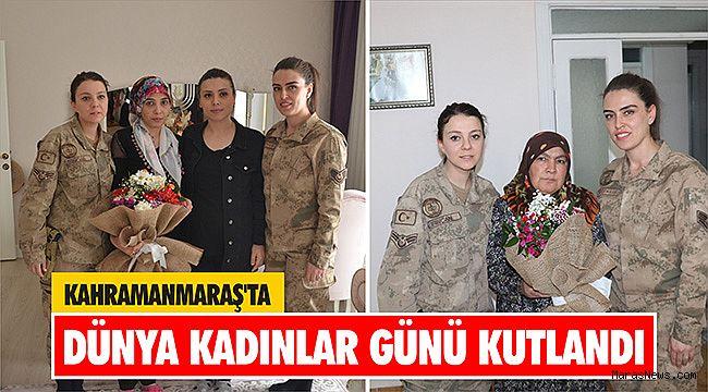 Kahramanmaraş'ta Dünya Kadınlar Günü kutlandı