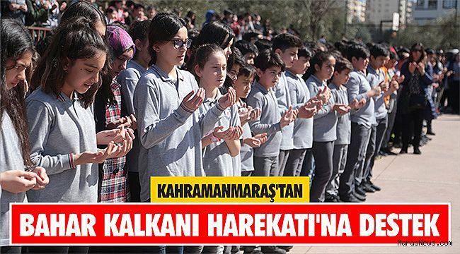 Kahramanmaraş'tan Bahar Kalkanı Harekatı'na destek