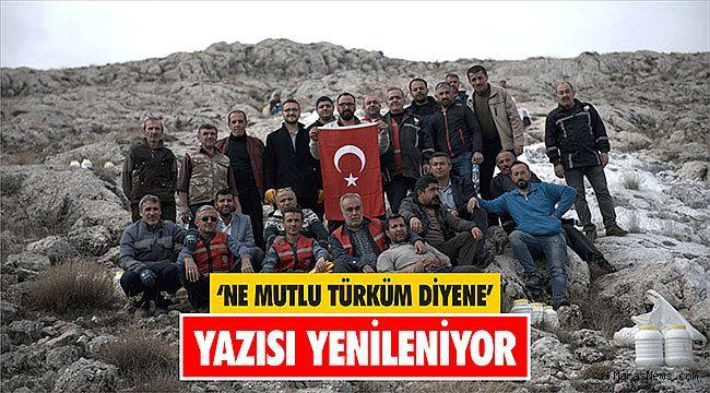 'Ne Mutlu Türküm Diyene' yazısı yenileniyor