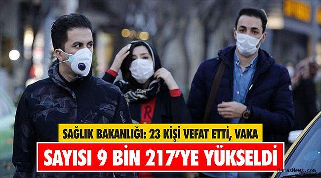 Sağlık Bakanlığı: 23 kişi vefat etti, Vaka sayısı 9 bin 217'ye yükseldi