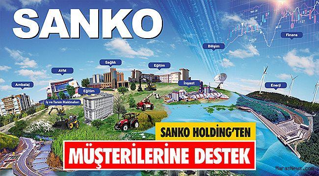 SANKO Holding'ten müşterilerine destek