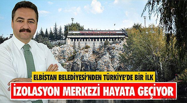 Elbistan Belediyesi'nden Türkiye'de bir ilk
