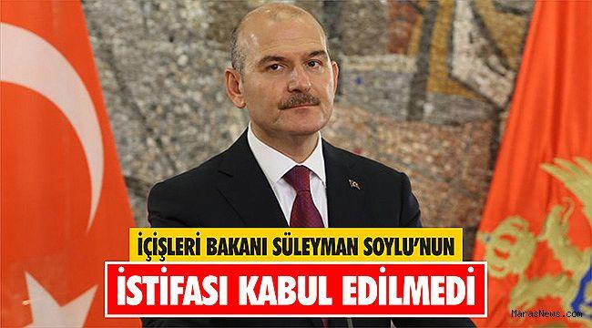 """""""Süleyman Soylu görevine devam ediyor"""""""