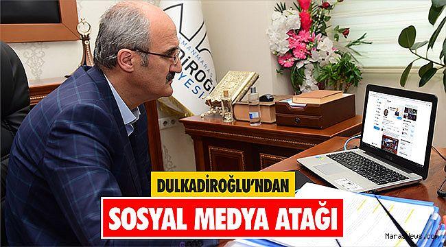 Dulkadiroğlu'ndan Sosyal Medya Atağı