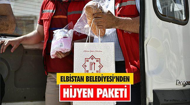 Elbistan Belediyesi'nden Hijyen Paketi