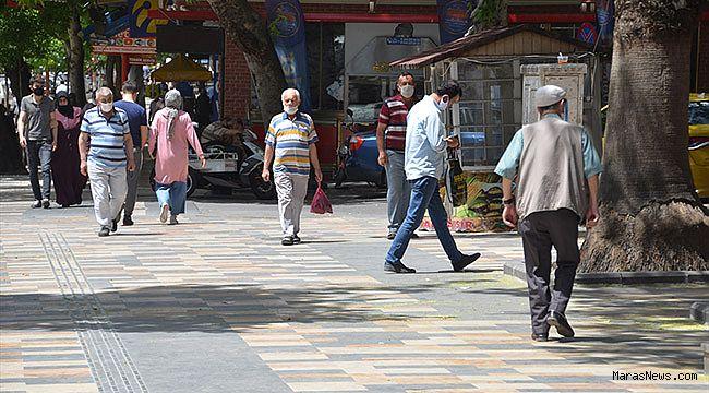 Kahramanmaraş'ta 65 yaş üstü vatandaşlar ikinci kez sokağa çıktı