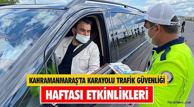 Kahramanmaraş'ta Karayolu Trafik Güvenliği Haftası etkinlikleri