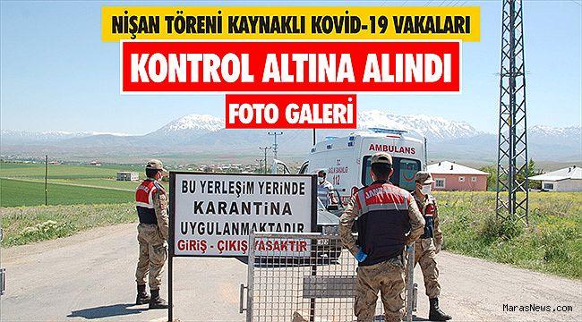 Nişan töreni kaynaklı Kovid-19 vakaları kontrol altına alındı