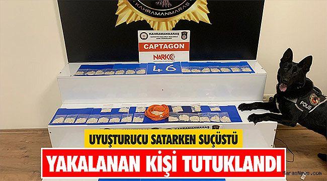 Uyuşturucu satarken suçüstü yakalanan kişi tutuklandı