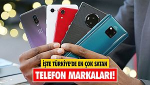 İşte Türkiye'de en çok satan telefon markaları!