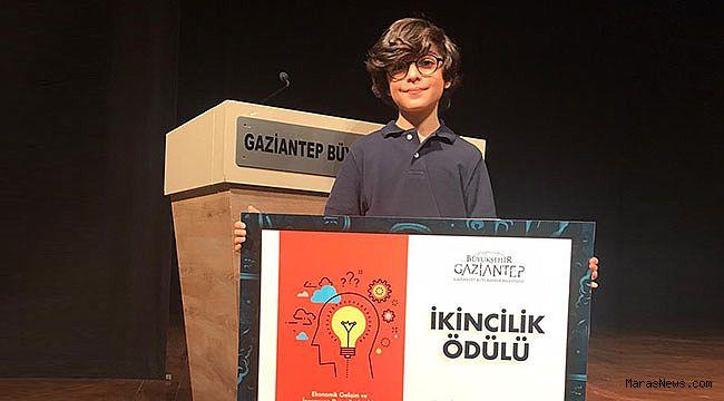 SANKO Okulları Öğrencisi Çınar Aydoğdu Türkiye ikincisi oldu