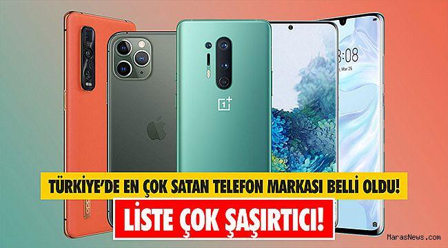 Türkiye'de en çok satan telefon markası belli oldu! Liste çok şaşırtıcı!