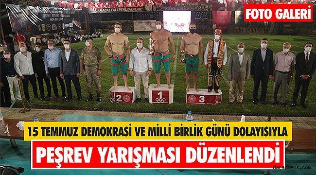15 Temmuz Demokrasi ve Milli Birlik Günü dolayısıyla Peşrev Yarışması düzenlendi