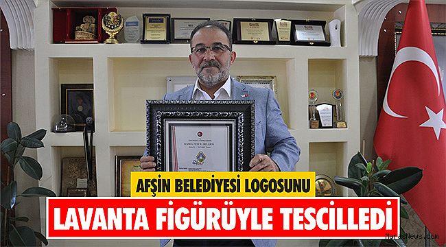 Afşin Belediyesi logosunu lavanta figürüyle tescilledi