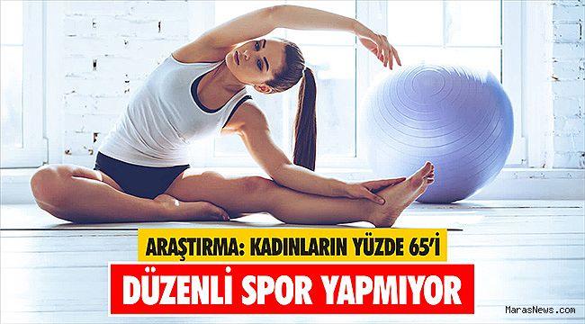 Araştırma: Kadınların yüzde 65'i düzenli spor yapmıyor