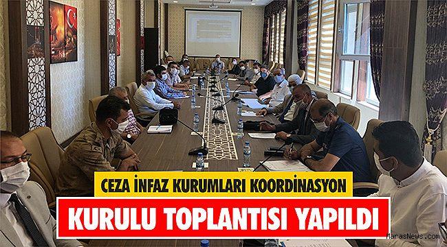 Ceza İnfaz Kurumları Koordinasyon Kurulu toplantısı yapıldı