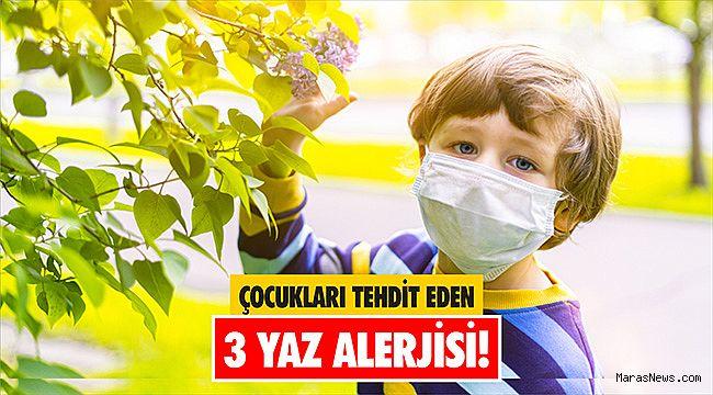 Çocukları tehdit eden 3 yaz alerjisi!