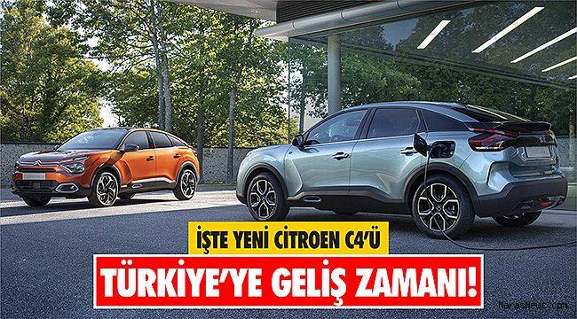 İşte yeni Citroen C4'ün Türkiye'ye geliş zamanı!