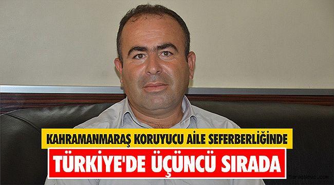 Kahramanmaraş koruyucu aile seferberliğinde Türkiye'de üçüncü sırada