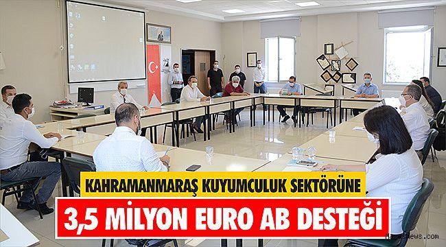 Kahramanmaraş Kuyumculuk Sektörüne 3,5 Milyon Euro AB Desteği