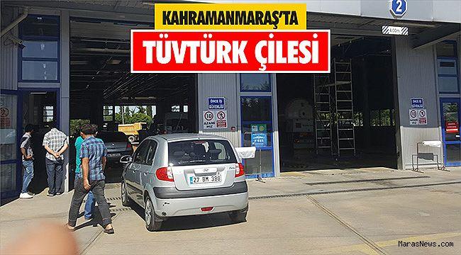 Kahramanmaraş'ta TÜVTÜRK çilesi