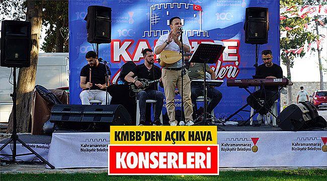 KMBB'den açık hava konserleri
