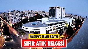 KMBB'ye Temel Seviye Sıfır Atık Belgesi