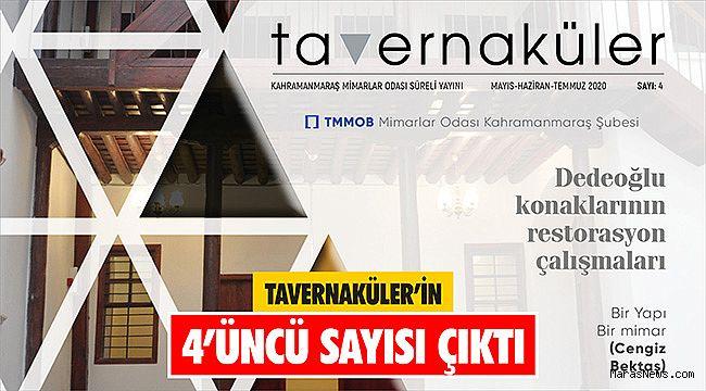 Tavernaküler'in 4'üncü sayısı çıktı