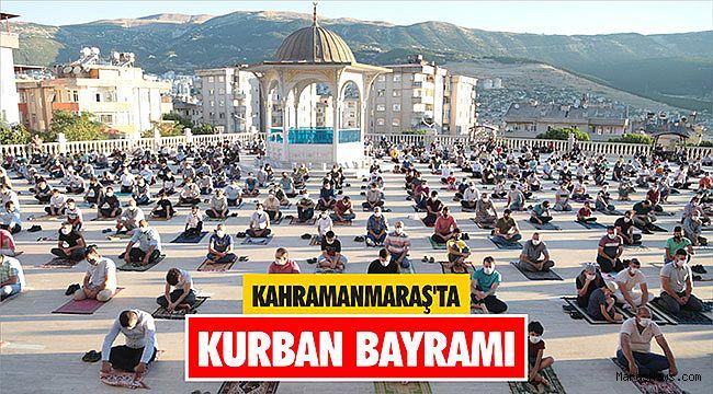 Kahramanmaraş'ta Kurban Bayramı