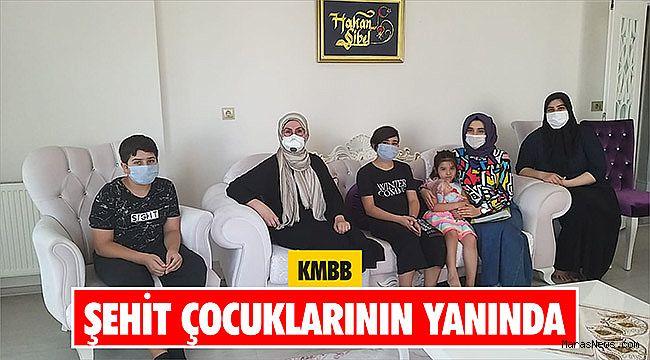 KMBB şehit çocuklarının yanında