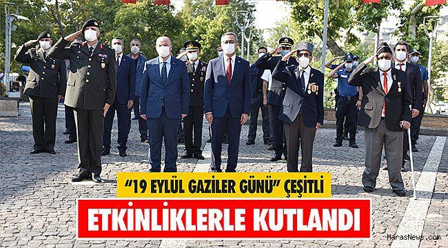 """""""19 Eylül Gaziler Günü"""" çeşitli etkinliklerle kutlandı"""