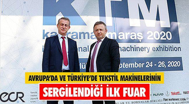 Avrupa'da ve Türkiye'de Tekstil Makinelerinin Sergilendiği İlk Fuar