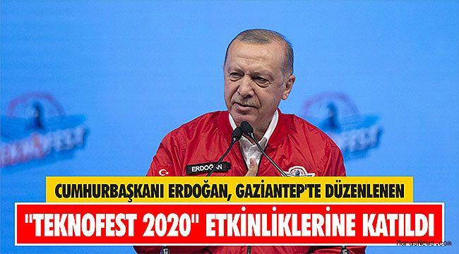 Cumhurbaşkanı Erdoğan, Gaziantep'te düzenlenen