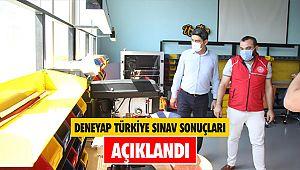 DENEYAP Türkiye sınav sonuçları açıklandı