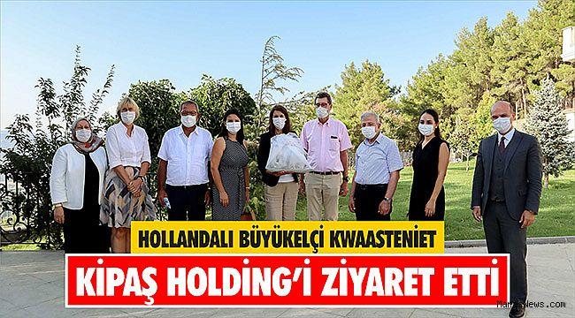 Hollandalı Büyükelçi Kwaasteniet Kipaş Holding'i ziyaret etti