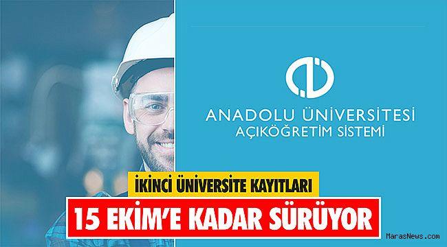 İkinci Üniversite Kayıtları 15 Ekim'e kadar sürüyor