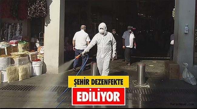 Şehir Dezenfekte Ediliyor