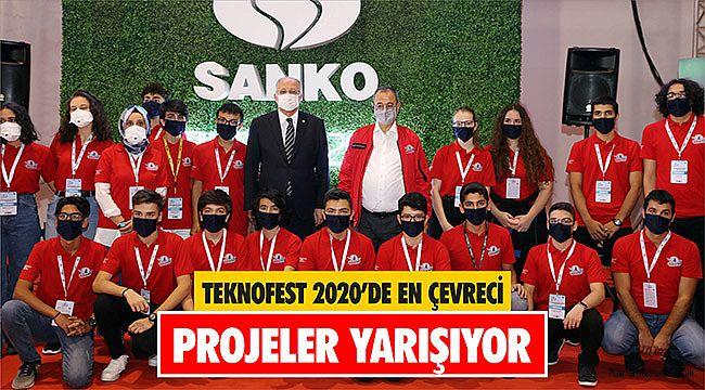 TEKNOFEST 2020'de en çevreci projeler yarışıyor