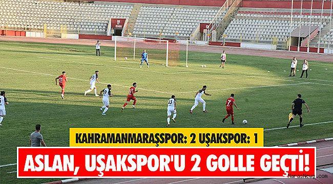Aslan, Uşakspor'u 2 golle geçti!