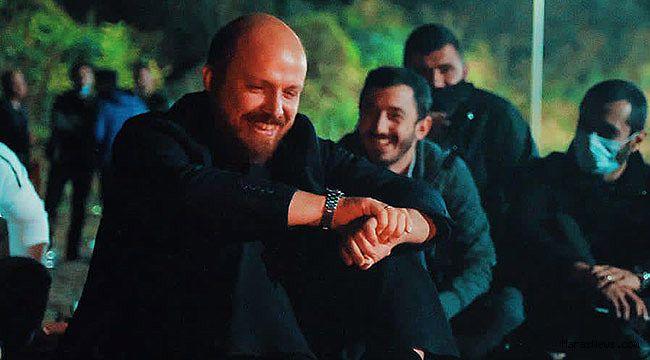 Bilal Erdoğan'dan kamp kuran ekibe sürpriz!