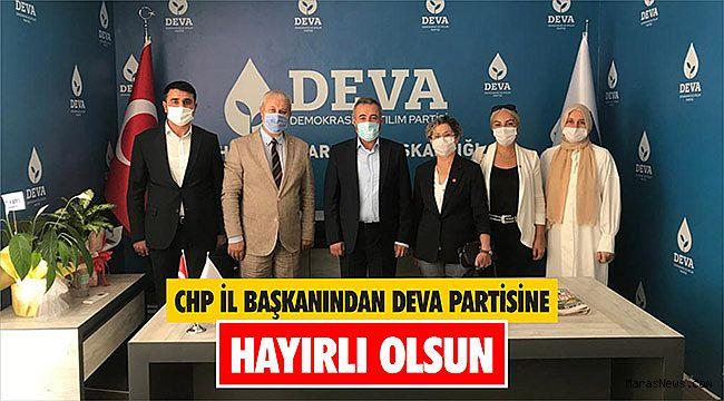 CHP İl Başkanından Deva Partisine hayırlı olsun