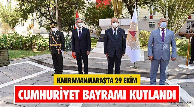 Kahramanmaraş'ta 29 Ekim Cumhuriyet bayramı kutlandı