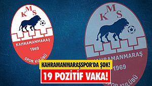 Kahramanmaraşspor'da şok! 19 pozitif vaka