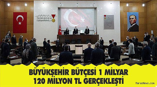 Büyükşehir Bütçesi 1 Milyar 120 Milyon TL Gerçekleşti