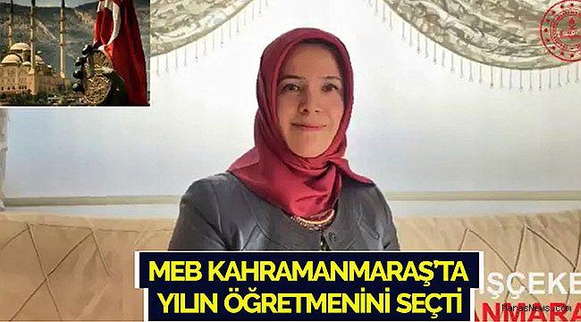 MEB Kahramanmaraş'ta yılın öğretmenini seçti
