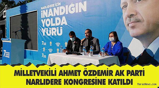 Milletvekili Özdemir AK Parti Narlıdere kongresine katıldı